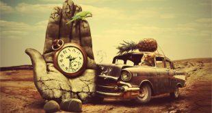 الرجعية-الفن-3d-سريالية-الوقت-السياراتشيفروليه-12x18-20x30-24x36-32x48-بوصة-1-طباعة-ملصق