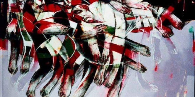 لوحة الفنان السوري سعد يكن