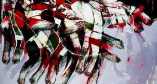 لوحة للفنان السوري سعد يكن