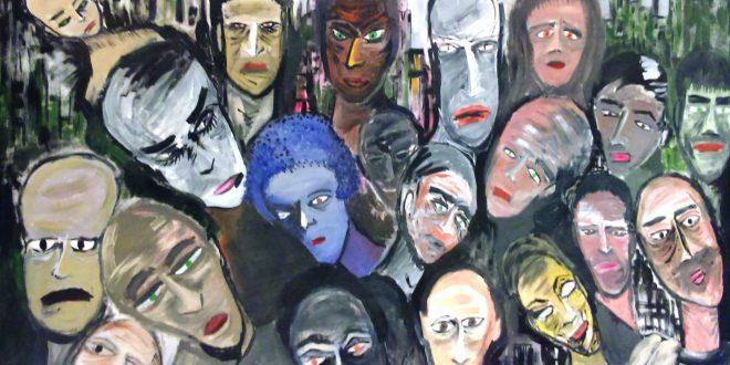 لوحة للفنان علي سليمان